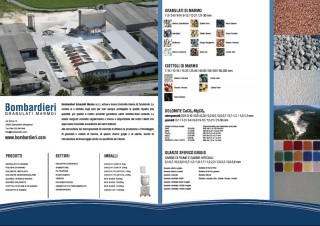Brochure Bombardieri granulati marmo s.r.l.