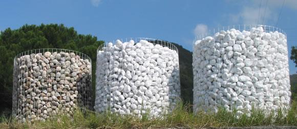 Ciottoli da giardino bombardieri granulati marmo for Sassi per bordure giardino